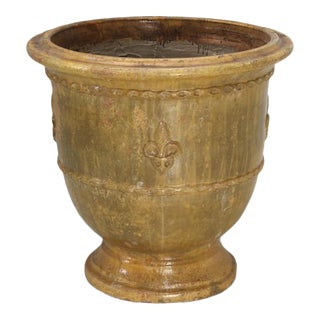French Vase or Pot From Anduze, France For Sale
