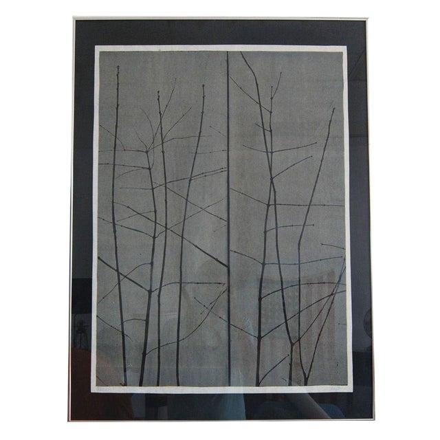 """Artist Eugene Larkin """"Trees"""" Print For Sale"""