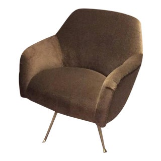 Dayle Mohair Swivel Chair