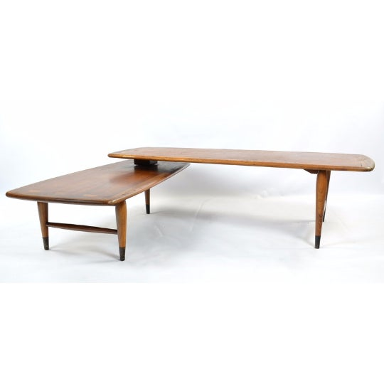 Lane Switchblade Two Sections Cocktail Table - Image 3 of 5