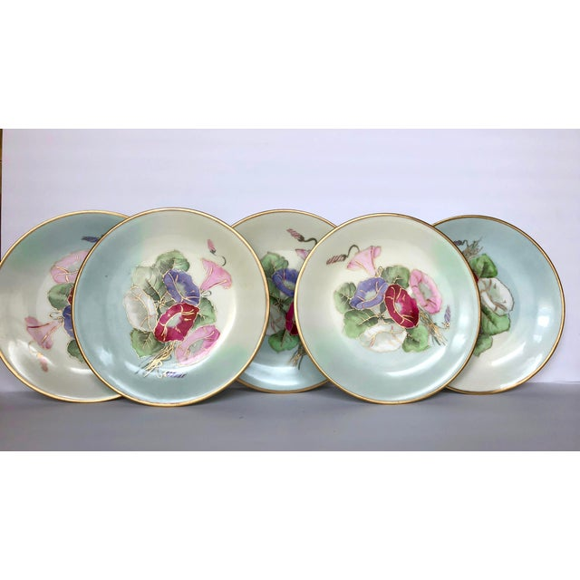 19th Century Limoges Plates - Set of 5 For Sale In Seattle - Image 6 of 6