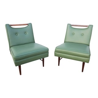 Vintage Mid-Century Probber Game Chairs- A Pair For Sale