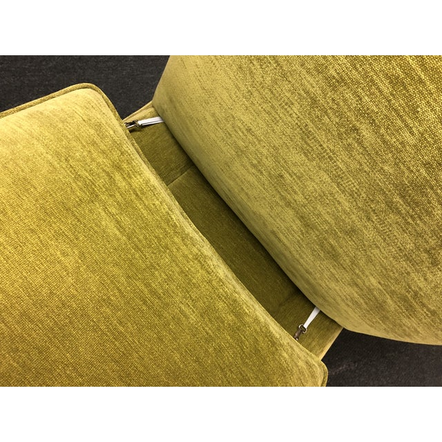 Green Manuel Canovas Slipper Chairs, a Pair For Sale - Image 8 of 11