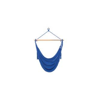 Alba Swing in Phthalo Blue + Walnut Rod For Sale
