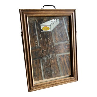 Antique Store Display Mirror for Star Brand Shoes