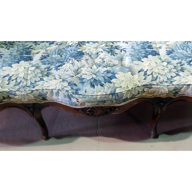 Mid 20th Century Antique Louis XV Style Sofa For Sale - Image 5 of 12