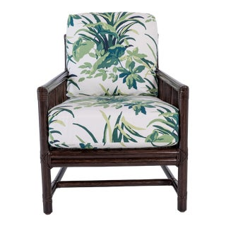 McGuire Furniture Rattan Chair For Sale