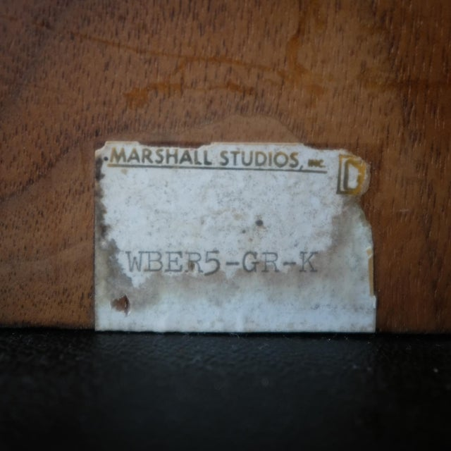 Martz Bookends for Marshall Studios Walnut and Ceramic For Sale - Image 9 of 10