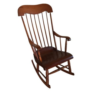 Early 20th-Century Primitive Rocker For Sale