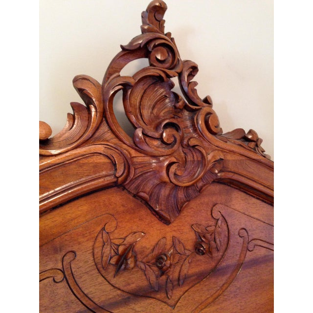 Antique Louis XV Full Size Bed - Image 7 of 7
