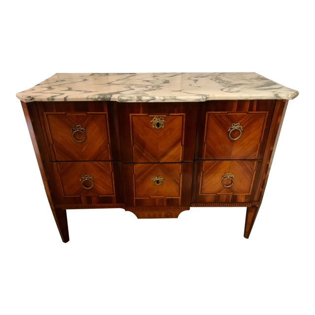 Italian 19th Century Two Drawer Commode For Sale