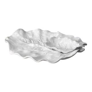 Beatriz Ball Melamine Lettuce Chip & Dip Dish For Sale