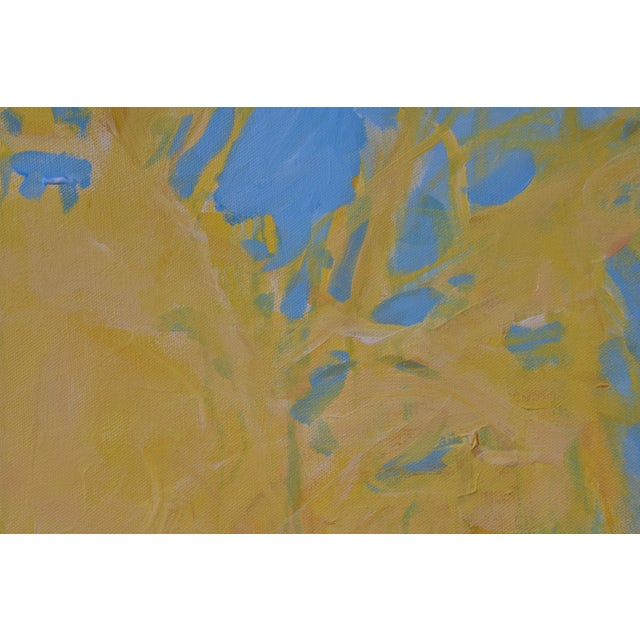 """Forsythia"" Abstract Painting - Image 6 of 9"