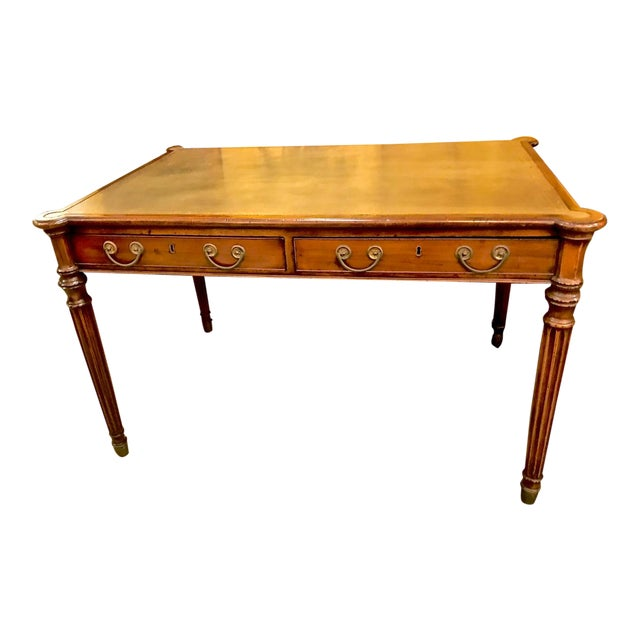 1810s Regency Mahogany Writing Table For Sale