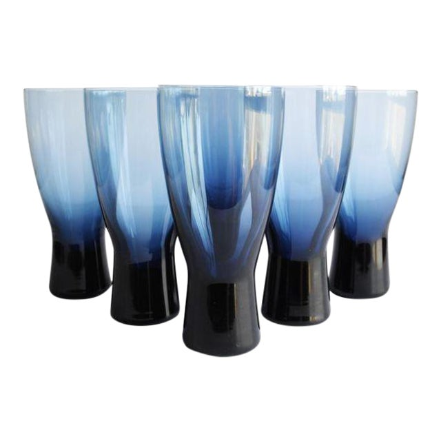 Mid-Century Highball Glasses - Set of 6 - Image 1 of 4