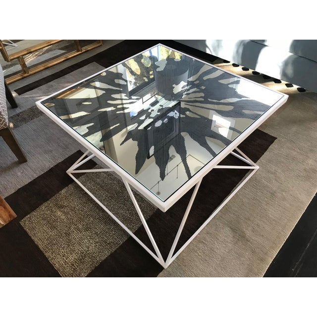 Splash Coffee Table by Jonathan Charles Furniture For Sale - Image 4 of 5