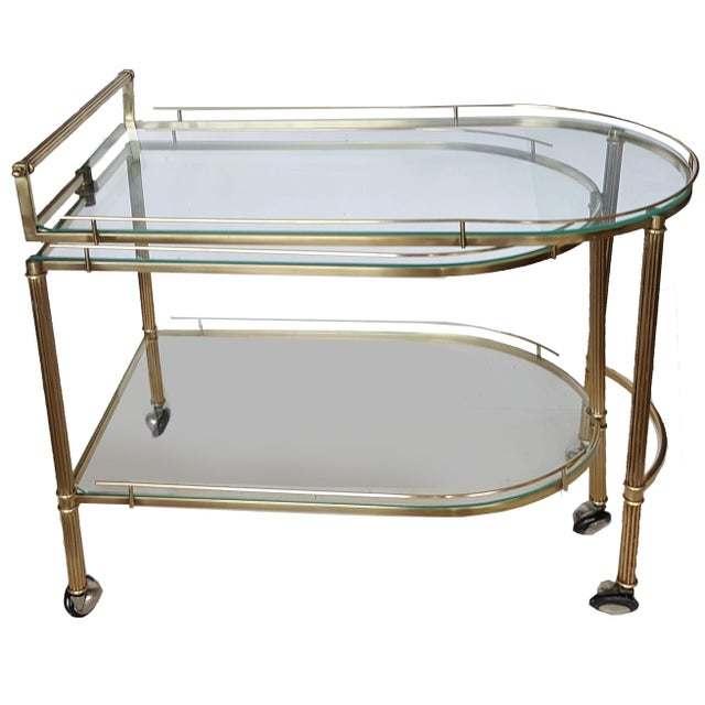 Vintage Italian Bar Cart - Image 2 of 9