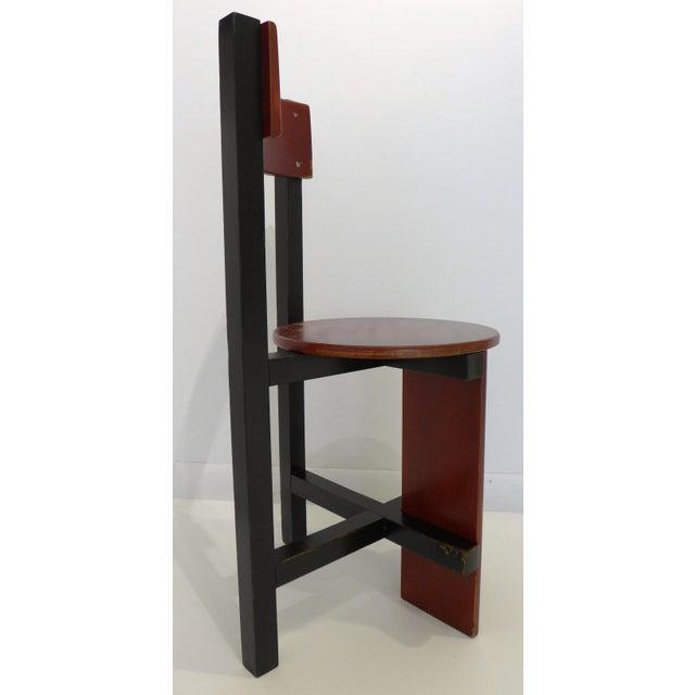 "1960s Constructivist ""Bastille"" Chair by Piet Blom For Sale - Image 5 of 9"