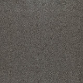 Schumacher Canyon Leather Wallpaper in Smoke For Sale
