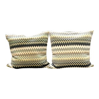Missoni Pillows - a Pair For Sale