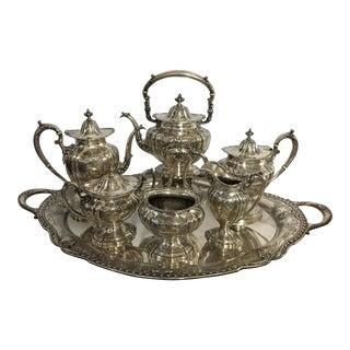 Gotham Sterling Silver Tea Service - Set of 7 For Sale