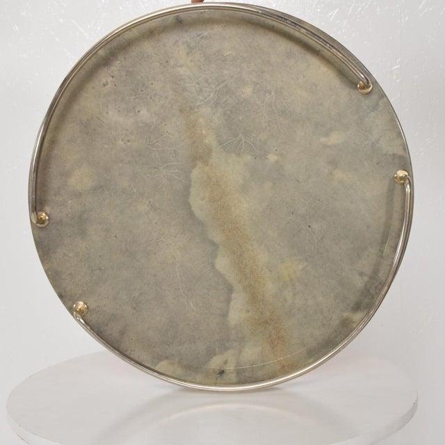 Silver Mid-Century Modern Aldo Tura Bar Set For Sale - Image 8 of 11