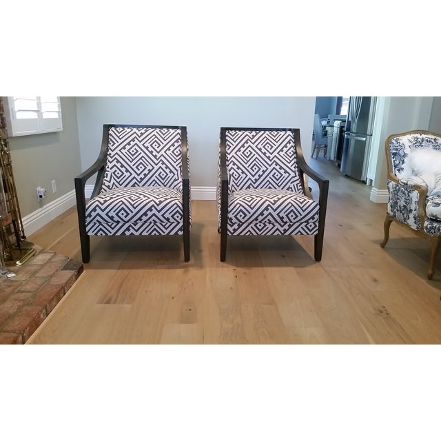 Contemporary New Accent Chairs - Pair - Image 6 of 7
