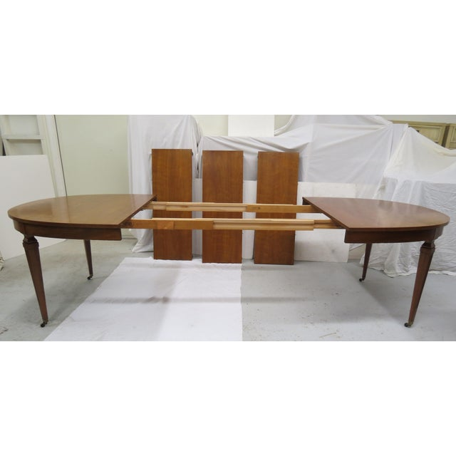 Brass Kindel Furniture Extension Dining Table For Sale - Image 7 of 8