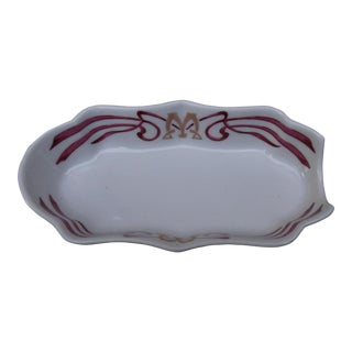 Vintage Maxim's De Paris Art Nouveau Cigar Ashtray