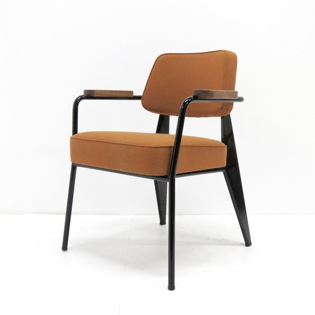 Vitra Fauteuil Direction by Jean Prouvé Armchair For Sale - Image 11 of 11