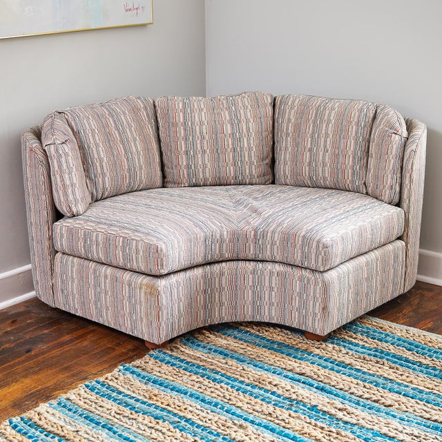 Mid-Century Henredon 5 Piece Sectional Sofa For Sale - Image 11 of 13