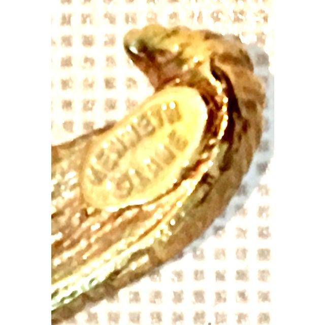 Gold 21st Century K. Lane Gold & Swarovski Crystal Starfish Pendant Necklace For Sale - Image 8 of 10