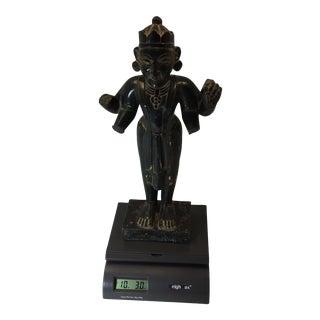 Asian Antique Vishnu Statue For Sale