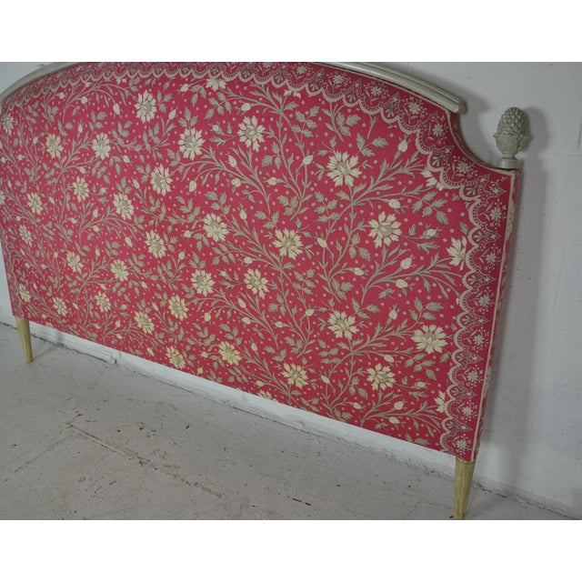 Late 20th Century Louis XVI King Size Bed Headboard For Sale - Image 5 of 7