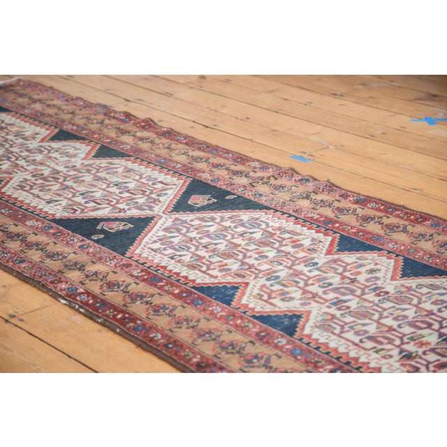 "Distressed Malayer Runner - 3'4"" X 9'2"" - Image 3 of 10"