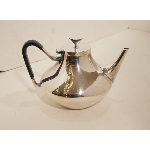 Denmark Complete Tea and Coffee Service by John Prip for Reed & Barton - 5 Pc. Set For Sale In New York - Image 6 of 8