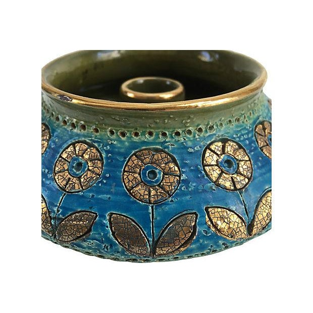 Bitossi Italian Gilt Candleholder - Image 5 of 5