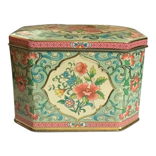 Vintage English Tea Tin For Sale