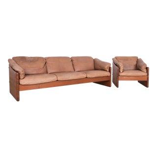 Danish Modern Mikael Laursen Sofa Set - a Pair For Sale