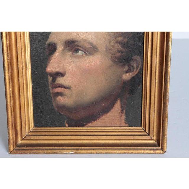 Paint Portrait of a Young Man by Willem Hendrik Schmidt (1809-1849) Dutch For Sale - Image 7 of 13
