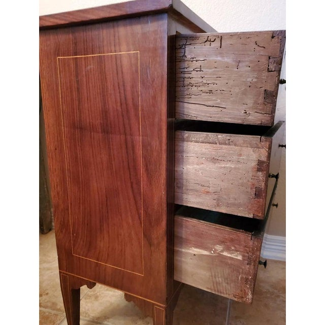 Small 18th/19th Century French Directoire Period Chest of Drawers For Sale In Austin - Image 6 of 13