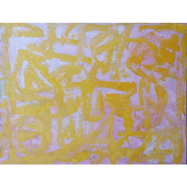 """""""Spark"""" Susie Kate Abstract Painting - Image 2 of 2"""
