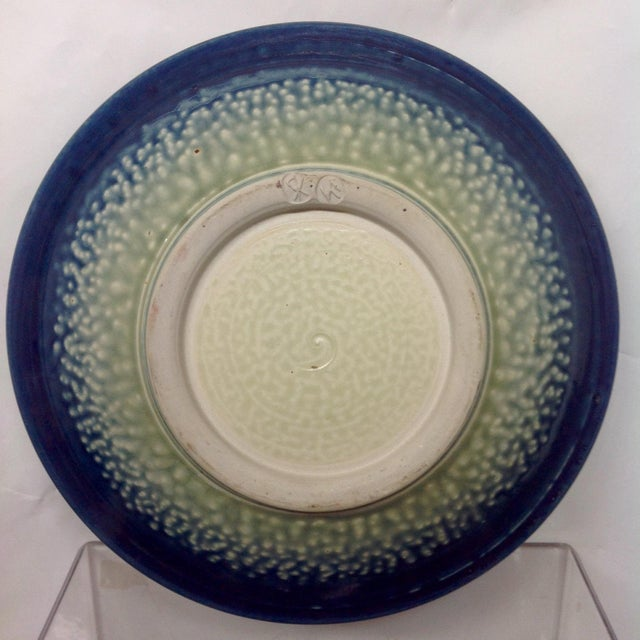 Blue & White Studio Pottery Bowl - Image 3 of 5