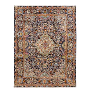 20th Century Vintage Persian Wool Rug For Sale