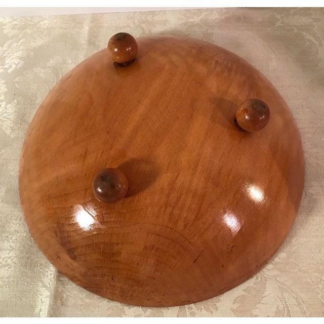 Mid-Century Modern Wooden Salad Bowls - Set of 7 - Image 7 of 11