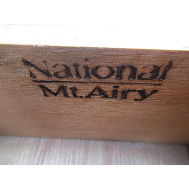 Chippendale Style 10-Drawer Dresser -By National Mt. Airy For Sale - Image 9 of 11