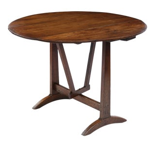 Rustic French Vendange Table For Sale