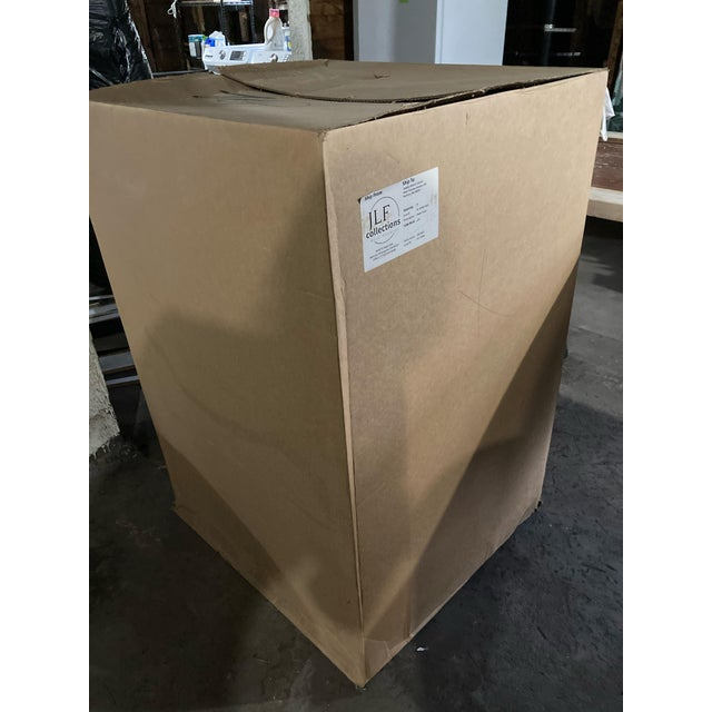 J L F Collections Rolling Desk Chair For Sale - Image 11 of 12