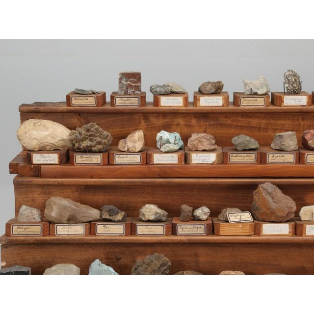 Late 19th Century 1891 French School Mineral Specimen Collection - 200 Pc. Set For Sale - Image 5 of 13