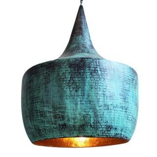 Verdigris Copper Lantern
